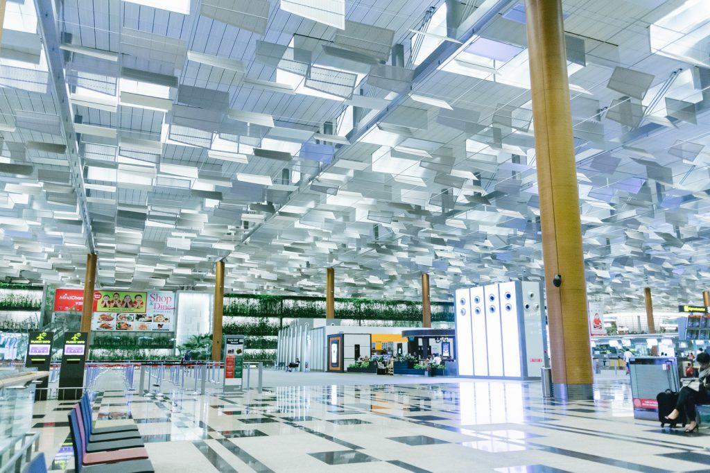 シンガポールのチャンギ空港の画像